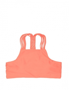 foto producto de bikini peto cuello alto