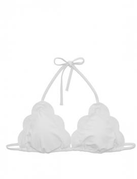 Foto producto de bikini estilo triangulo con bordes ovalados