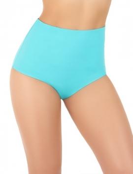 Modelo de espalda con calzon de bikini pin up