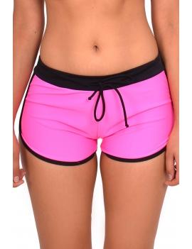 Bikini short hot pant color fuscia  marca samia