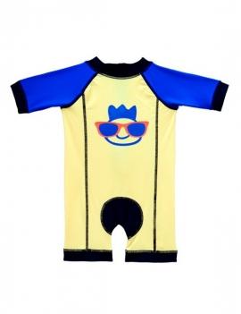 traje de baño para niño amarillo marca samia