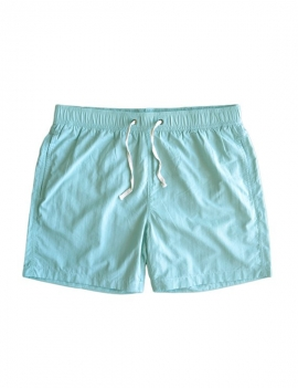 Short largo para hombre color verde
