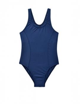 Traje de baño Deportivo para niña color azul