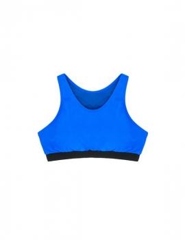 Peto deportivo azul