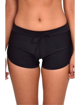Bikini short hot pant color negro marca samia