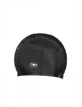 Gorro de goma para natación color negro