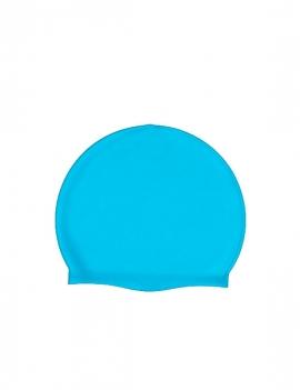 Gorro de natación de silicona por mayor turquesa